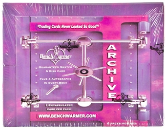 BenchWarmer Archives Hobby Box (2009)