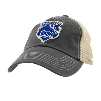 Boise St. Broncos Top Of The World Slated Gray Snapback Hat (Adult One Size)