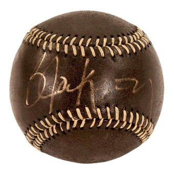 Bo Jackson Autographed Kansas City Royals MLB Black Baseball (PSA)