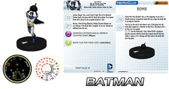 WizKids HeroClix Convention Exclusive Batman With Bomb Pack