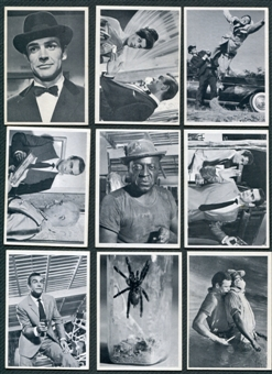 1965 James Bond Complete Set of 66 Cards - Sean Connery in Dr. No Goldfinger