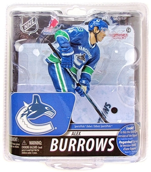 Vancouver Canucks Alexander Burrows NHL McFarlane Series 29 Figure