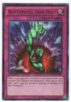 Yu-Gi-Oh Legendary Collection 3 Single Bottomless Trap Hole Ultra Rare