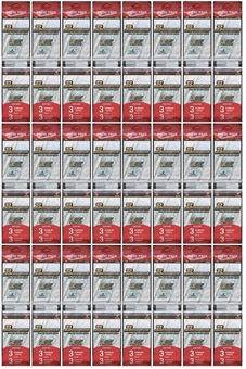 2012 Bowman Football Retail Rack Pack Lot (24 Packs)