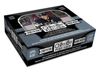 2015/16 Upper Deck O-Pee-Chee Platinum Hockey Hobby 16-Box Case (Presell)