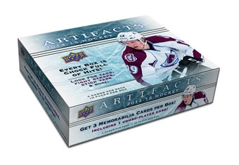 2014/15 Upper Deck Artifacts Hockey Hobby Box (Presell)
