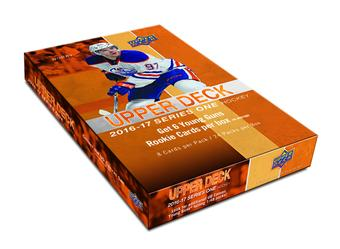 2016/17 Upper Deck Series 1 Hockey Hobby 12-Box Case (Presell)