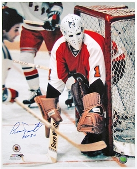 Bernie Parent Autographed Philadelphia Flyers 16x20 Photo