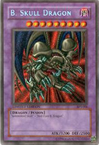 Yu-Gi-Oh Limited Edition Tin Single B. Skull Dragon Secret Rare (BPT-006)