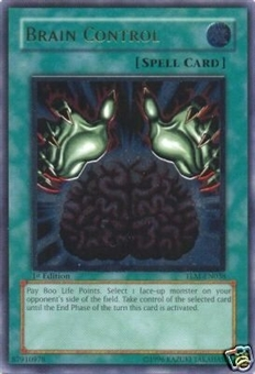 Yu-Gi-Oh The Lost Millennium Single Brain Control Ultimate Rare