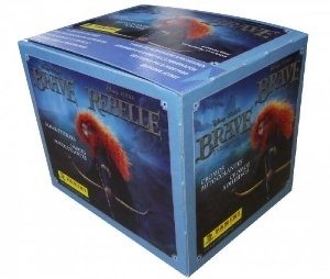 Disney Brave Sticker Pack Box (Panini 2012)