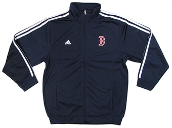 Boston Red Sox Adidas Navy Legacy Track Jacket (Youth Small)