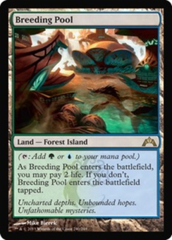 Magic the Gathering Gatecrash Single Breeding Pool Foil
