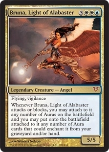 Magic the Gathering Avacyn Restored Single Bruna, Light of Alabaster UNPLAYED (NM/MT)