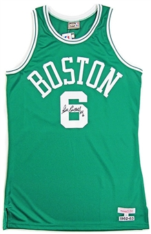 Bill Russell Autographed Boston Celtics Basketball Jersey (JSA)
