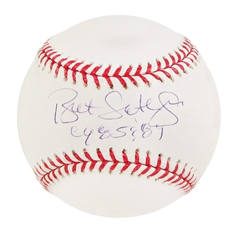 Bret Saberhagen Autographed Official Major League Baseball