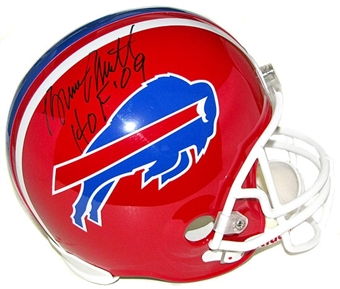 Bruce Smith Autographed Buffalo Bills Football Full Size Helmet