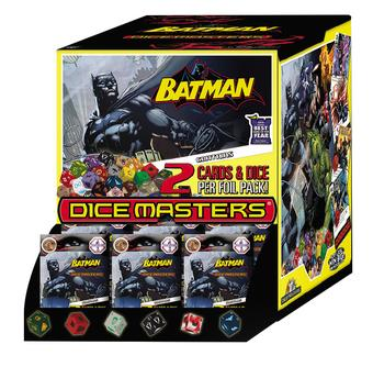 DC Dice Masters: Batman Gravity Feed Booster Box (90 Ct.)