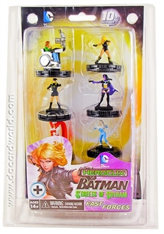 "DC Heroclix Batman: Streets of Gotham ""Birds of Prey"" Fast Forces Pack"