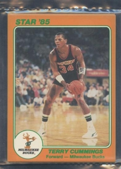 1985 Star Co. Basketball 5x7 Bucks Bagged Set