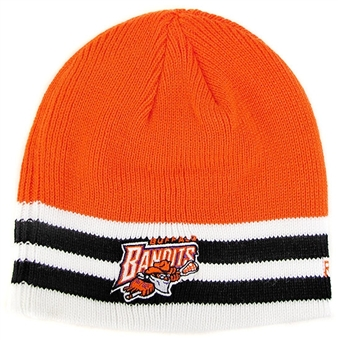 Buffalo Bandits Reebok Gameday Cuffless Knit Hat (One Size Fits All)
