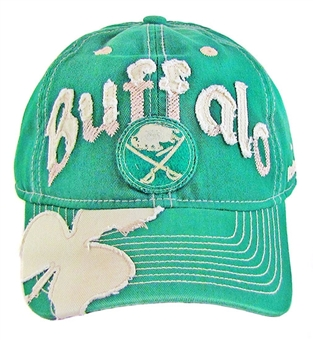Buffalo Sabres Reebok St. Patrick's Day Clover Adjustable Slouch Hat (One Size Fits All)