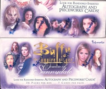 Buffy The Vampire Slayer Women of Sunnydale Hobby Box (InkWorks)