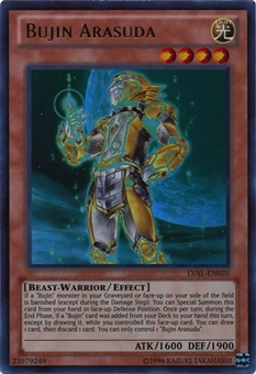 Yu-Gi-Oh Legacy of the Valiant Single Bujin Arasuda (LVAL-EN026) - NEAR MINT (NM)
