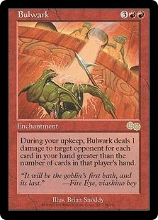 Magic the Gathering Urza's Saga Single Bulwark - NEAR MINT (NM)