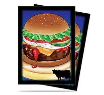 Ultra Pro Foodie Burger Standard Sized Deck Protectors (50 ct) - Regular Price $3.99 !!!