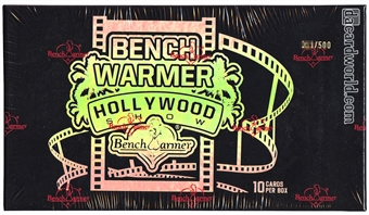 BenchWarmer Hollywood Show Hobby Box (2014)