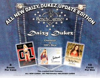 BenchWarmer Daizy Dukez Update Trading Cards Box (2016)