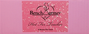 BenchWarmer Hot for Teacher Trading Cards 6-Box Inner Case (2013)