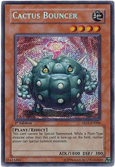 Yu-Gi-Oh Absolute Powerforce Single Cactus Bouncer Secret Rare