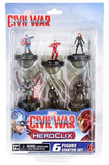 Marvel HeroClix: Captain America Civil War Movie Starter Set