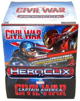 Marvel HeroClix: Captain America Civil War Movie 24-Pack Box