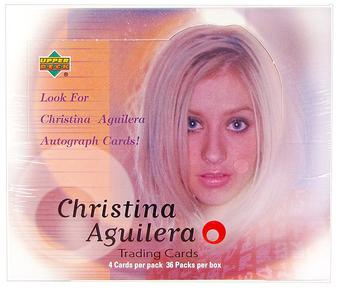 2000 Upper Deck Christina Aguilera Hobby Box