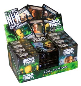 Decipher Star Trek Call to Arms Combo Box (24 Booster Packs & 8 Starter Decks)