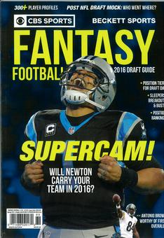 2016 Beckett Fantasy Football Guide