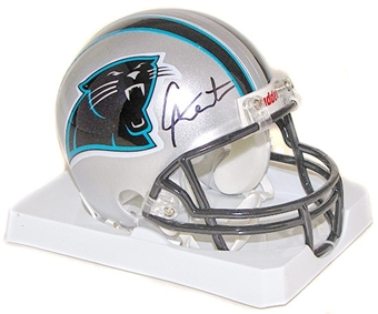 Cam Newton Autographed Carolina Panthers Mini Helmet (PSA)