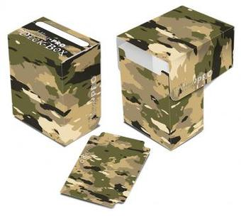 Ultra Pro Camouflage Full View Deck Box (Case of 60)