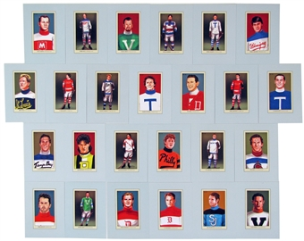 2011/12 ITG Canada vs The World 100 Years of Card Collecting Hockey Complete 25 Card Set