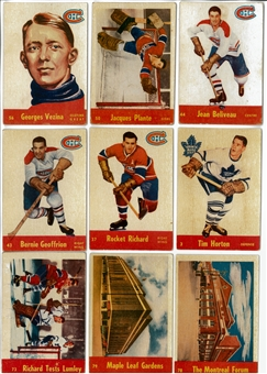 1955/56 Parkhurst Hockey Complete Set (VG+)