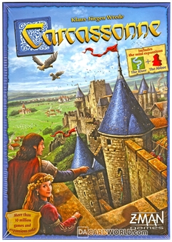 Carcassonne (New Edition) Board Game (ZMan)