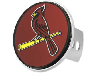 "St. Louis Cardinals Rico Industries 4 "" Laser Trailer Hitch Cover"