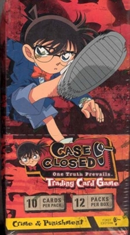 Score Case Closed Crime & Punishment Booster Box
