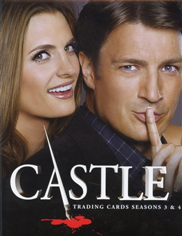 Castle Seasons 3 & 4 Trading Cards Album/Binder