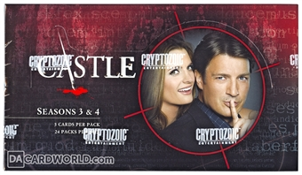 Castle Seasons 3 & 4 Trading Cards Hobby Box (Cryptozoic 2014)