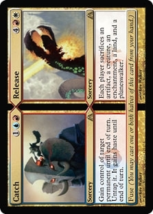 Magic the Gathering Dragon's Maze Single Catch - Release Foil