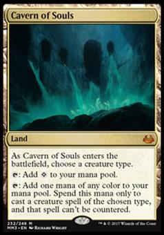 Magic the Gathering Modern Masters 2017 Single Cavern of Souls FOIL - NEAR MINT (NM)
